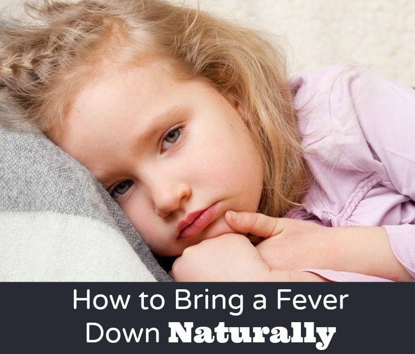 How to Bring a Fever Down Naturally - Nerdy Millennial