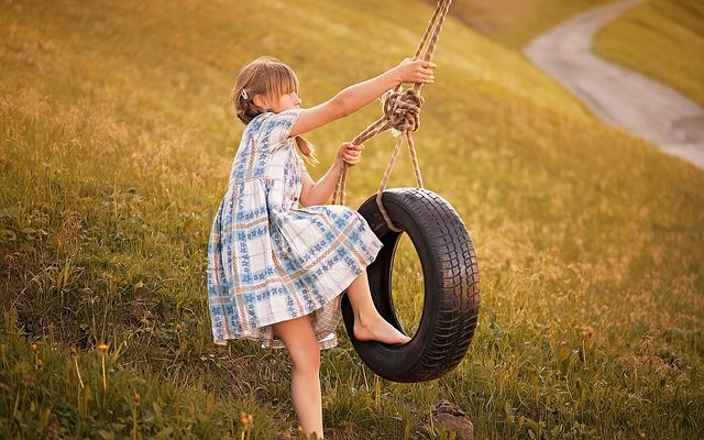 Repurposing An Old Tire For Old-Fashioned Fun