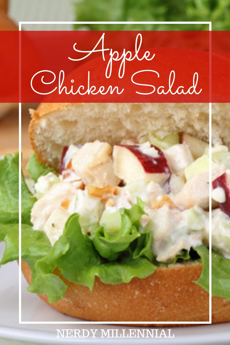 Apple Chicken Salad - This chicken salad is so easy and so versatile, we have it quite often when a quick sandwich is in order.