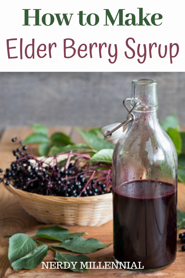 How to Make Elder Berry Syrup