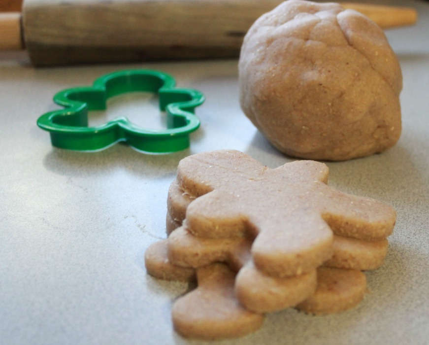 Homemade Gingerbread Playdough Recipe