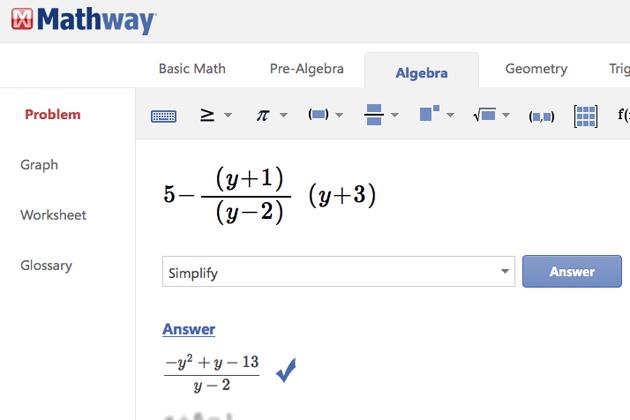 College Math Help Websites