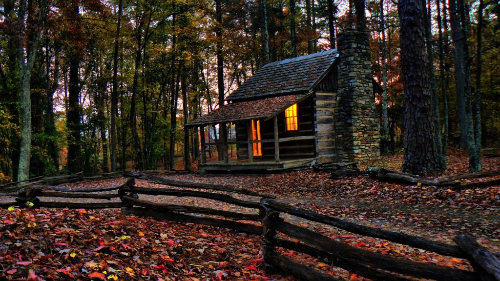 cabin fall bucket list for couples