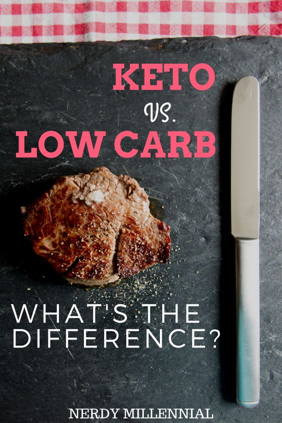 Low Carb vs Keto Diet: What's the Difference?