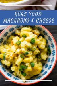 This week, I'm sharing a family favorite in my house. We have always loved macaroni and cheese but usually relied on the boxed version before we switched to eating a real food diet. When we finally made the switch, one of the first things I was on the lookout for was a quick and easy whole food macaroni and cheese recipe that my kids would love.