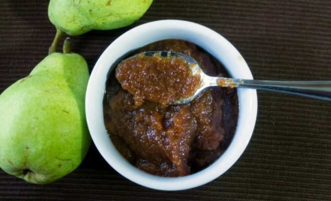 Cinnamon Ginger Pear Butter