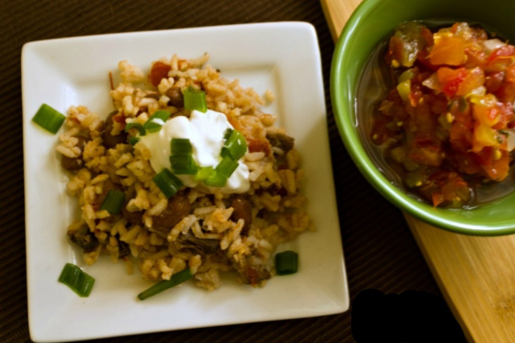 Mexican Rice with Ground Beef