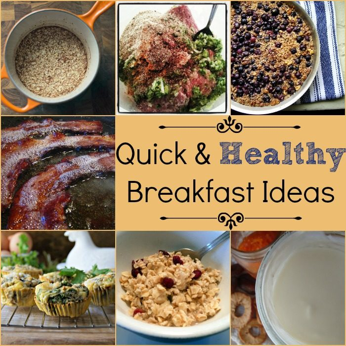 Quick And Healthy Breakfast Ideas Tip Tuesday Nerdy Millennial