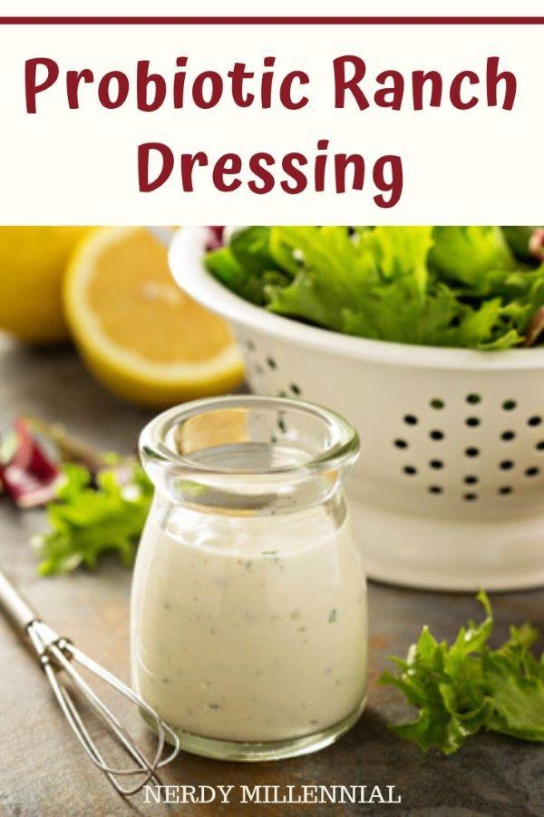 Probiotic Ranch Dressing #healthy