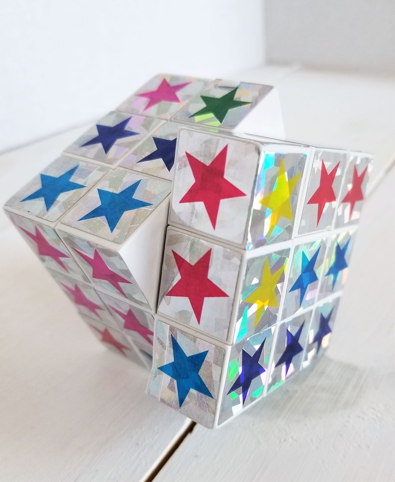Dollar Store Fidgets and Sensory Toy Ideas: Star Cube