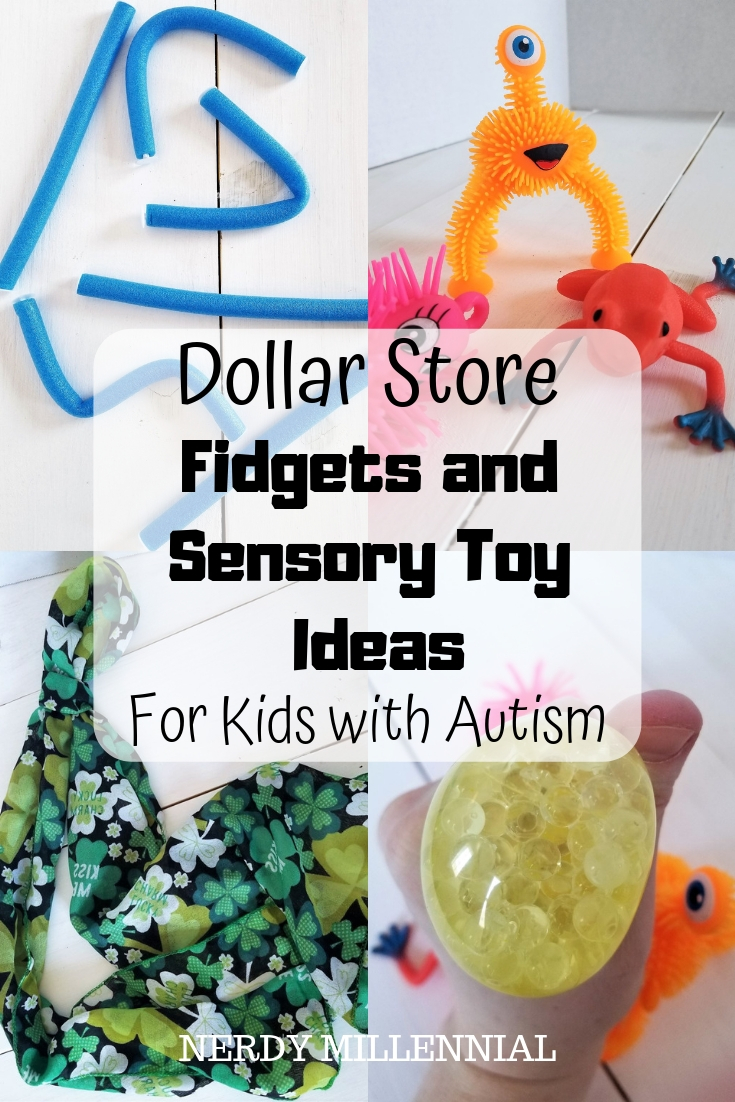 Dollar Store Fidgets and Sensory Toy Ideas for Kids with Autism