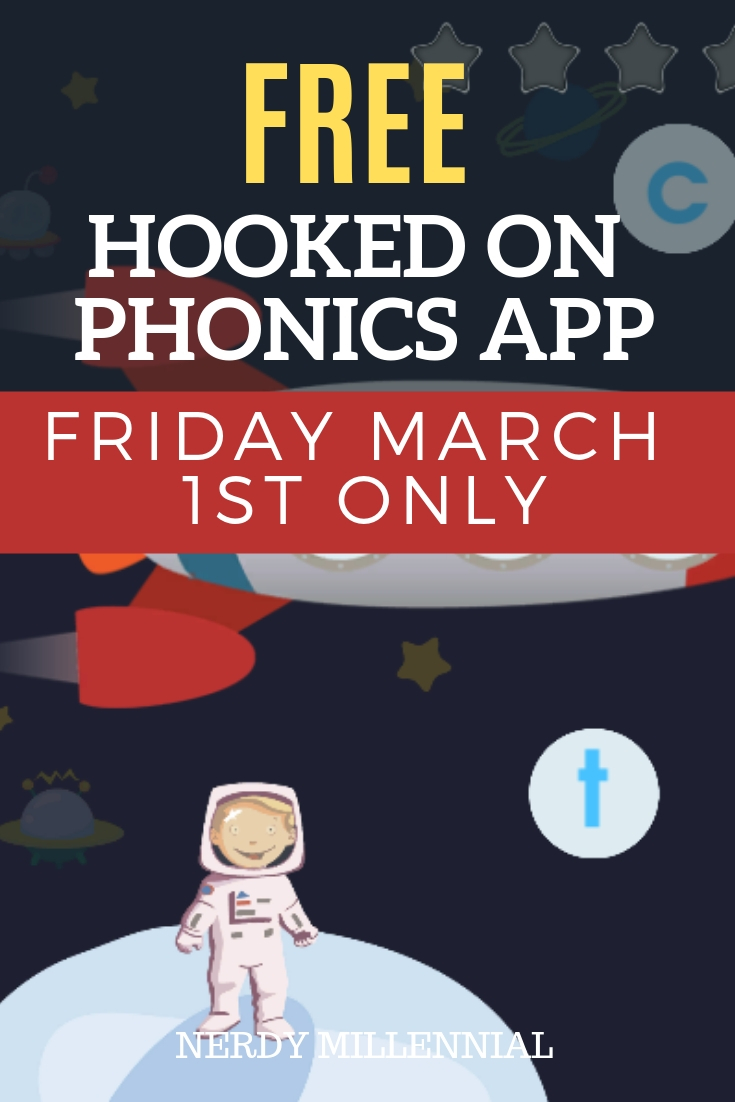 Free Hooked on Phonics App - Friday March 1st Only