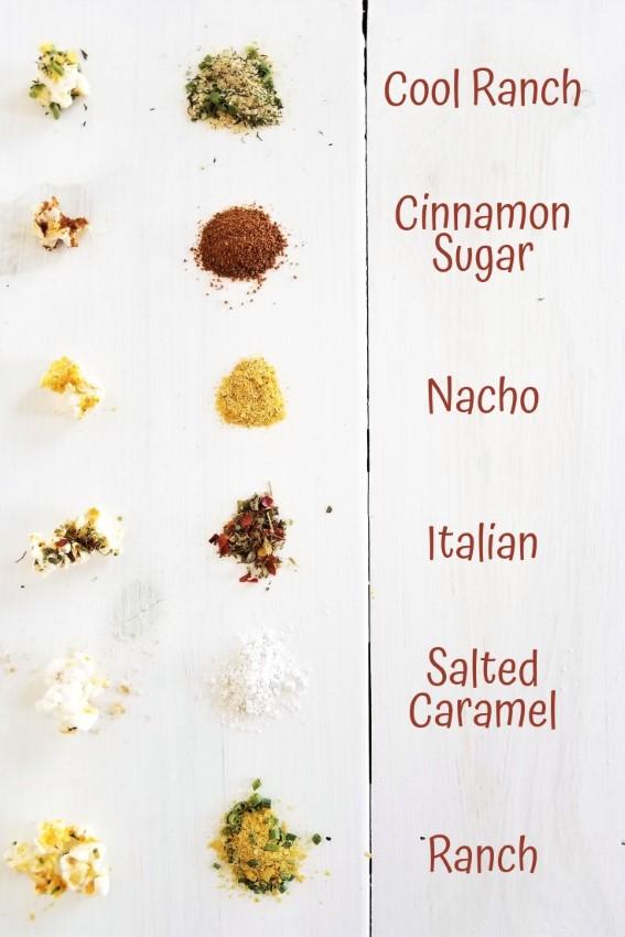 How to Make Popcorn Without Oil + 6 Vegan Popcorn Seasoning Recipes