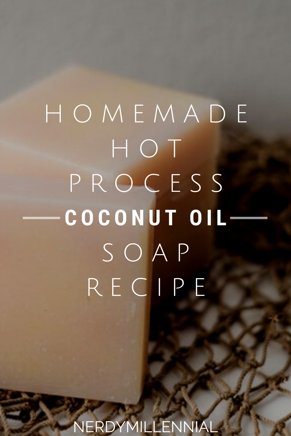 Homemade Hot Process Coconut Oil Soap Recipe (For Body Care And Laundry)