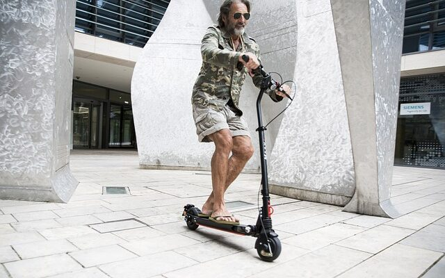 4 Health Benefirst of Electric Scooters